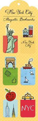 New York City Magnetic Bookmark By Jesse, Mariko (ILT)